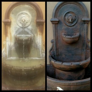 Restore Your Aging Water Features!